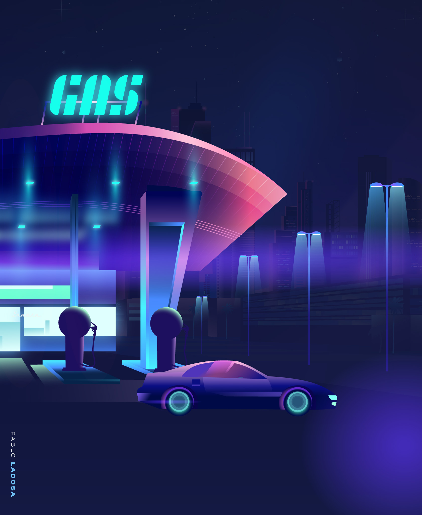 View_Gas_Station_side